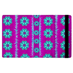 Fern Decorative In Some Mandala Fantasy Flower Style Apple Ipad Pro 9 7   Flip Case by pepitasart