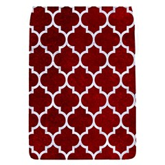 Tile1 White Marble & Red Grunge Flap Covers (s)