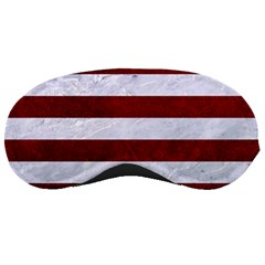 Stripes2white Marble & Red Grunge Sleeping Masks by trendistuff