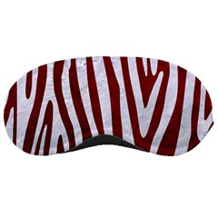 Skin4 White Marble & Red Grunge (r) Sleeping Masks by trendistuff