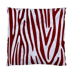 Skin4 White Marble & Red Grunge Standard Cushion Case (two Sides) by trendistuff