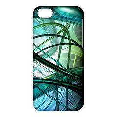 Abstract Apple Iphone 5c Hardshell Case by Sapixe