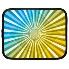 Abstract Art Art Radiation Netbook Case (xxl)