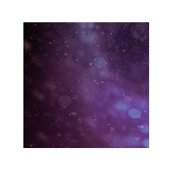 Abstract Purple Pattern Background Small Satin Scarf (square)