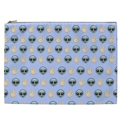Alien Pattern Cosmetic Bag (xxl)