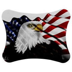 American Eagle Flag Sticker Symbol Of The Americans Jigsaw Puzzle Photo Stand (bow) by Sapixe