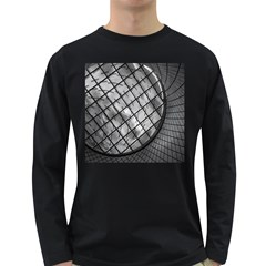 Architecture Roof Structure Modern Long Sleeve Dark T Shirts by Sapixe