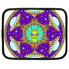 Alien Mandala Netbook Case (xl)