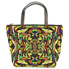Artwork By Patrick Colorful 19 Bucket Bags