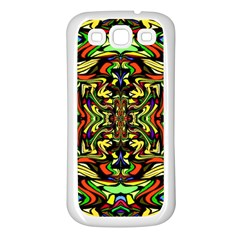 Artwork By Patrick Colorful 19 Samsung Galaxy S3 Back Case (white)