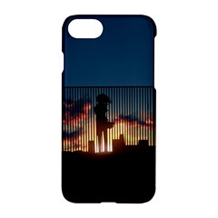 Art Sunset Anime Afternoon Apple Iphone 7 Hardshell Case by Sapixe