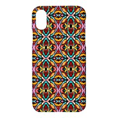Colorful 20 Apple Iphone X Hardshell Case by ArtworkByPatrick