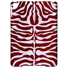 Skin2 White Marble & Red Grunge Apple Ipad Pro 9 7   Hardshell Case by trendistuff