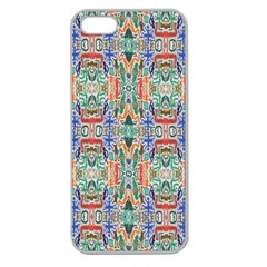 Colorful 23 Apple Seamless Iphone 5 Case (clear)