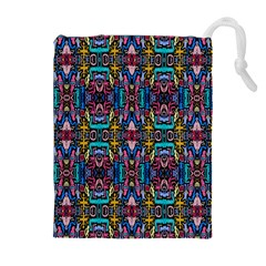 Colorful 23 1 Drawstring Pouches (extra Large) by ArtworkByPatrick