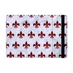 Royal1 White Marble & Red Grunge Ipad Mini 2 Flip Cases by trendistuff