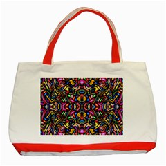 Artwork By Patrick Colorful 24 1 Classic Tote Bag (red)