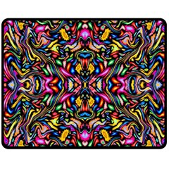 Artwork By Patrick Colorful 24 1 Fleece Blanket (medium)
