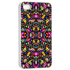 Artwork By Patrick Colorful 24 1 Apple Iphone 4/4s Seamless Case (white) by ArtworkByPatrick