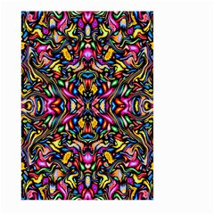 Artwork By Patrick Colorful 24 1 Large Garden Flag (two Sides) by ArtworkByPatrick