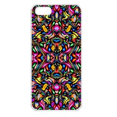 Artwork By Patrick Colorful 24 1 Apple Iphone 5 Seamless Case (white) by ArtworkByPatrick