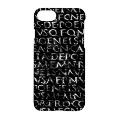 Antique Roman Typographic Pattern Apple Iphone 7 Hardshell Case by dflcprints