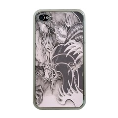 Chinese Dragon Tattoo Apple Iphone 4 Case (clear) by Sapixe
