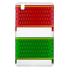 Christmas Banners Clipart Samsung Galaxy Tab Pro 8 4 Hardshell Case