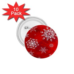 Christmas Pattern 1 75  Buttons (10 Pack) by Sapixe
