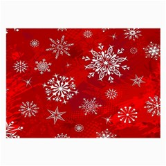 Christmas Pattern Large Glasses Cloth (2 Side) by Sapixe