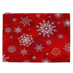 Christmas Pattern Cosmetic Bag (xxl)  by Sapixe