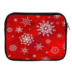 Christmas Pattern Apple Ipad 2/3/4 Zipper Cases by Sapixe