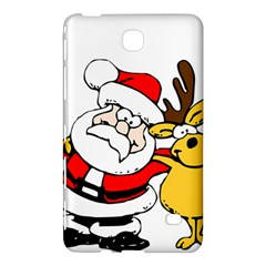 Christmas Santa Claus Samsung Galaxy Tab 4 (8 ) Hardshell Case  by Sapixe
