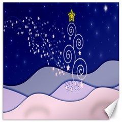 Christmas Tree Canvas 12  X 12   by Sapixe