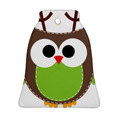 Clip Art Animals Owl Ornament (bell) by Sapixe