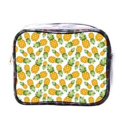 Pineapple Pattern Mini Toiletries Bags by goljakoff