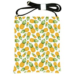 Pineapple Pattern Shoulder Sling Bags by goljakoff