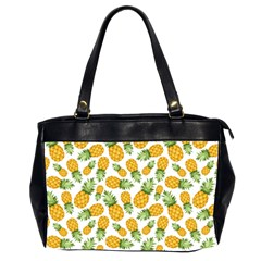 Pineapple Pattern Office Handbags (2 Sides)  by goljakoff
