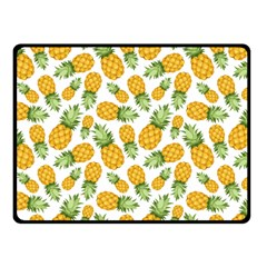 Pineapple Pattern Fleece Blanket (small) by goljakoff