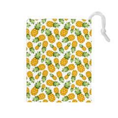 Pineapple Pattern Drawstring Pouches (large)  by goljakoff