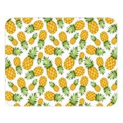 Pineapple Pattern Double Sided Flano Blanket (large)  by goljakoff