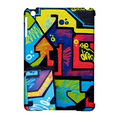 Urban Graffiti Movie Theme Productor Colorful Abstract Arrows Apple Ipad Mini Hardshell Case (compatible With Smart Cover) by MAGA