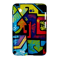 Urban Graffiti Movie Theme Productor Colorful Abstract Arrows Samsung Galaxy Tab 2 (7 ) P3100 Hardshell Case