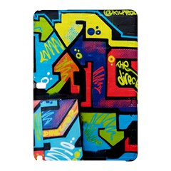 Urban Graffiti Movie Theme Productor Colorful Abstract Arrows Samsung Galaxy Tab Pro 12 2 Hardshell Case by MAGA