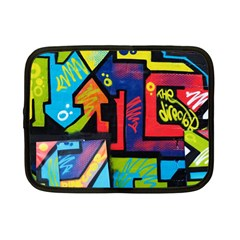 Urban Graffiti Movie Theme Productor Colorful Abstract Arrows Netbook Case (small)  by MAGA
