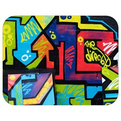 Urban Graffiti Movie Theme Productor Colorful Abstract Arrows Full Print Lunch Bag by MAGA