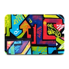 Urban Graffiti Movie Theme Productor Colorful Abstract Arrows Plate Mats