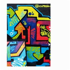 Urban Graffiti Movie Theme Productor Colorful Abstract Arrows Small Garden Flag (two Sides) by MAGA