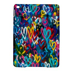 Graffiti Hearts Street Art Spray Paint Rad  Ipad Air 2 Hardshell Cases by MAGA