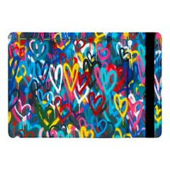 Graffiti Hearts Street Art Spray Paint Rad  Apple Ipad Pro 10 5   Flip Case